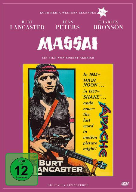 Massai - Der große Apache (DVD) für 14,99 Euro