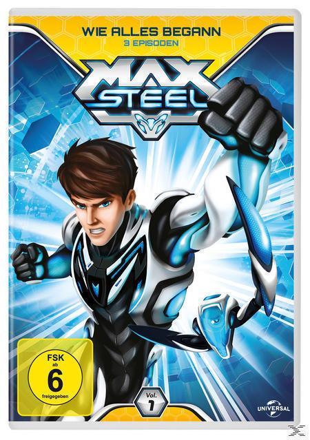 Max Steel (Vol. 1) - Wie alles begann (DVD) für 7,99 Euro
