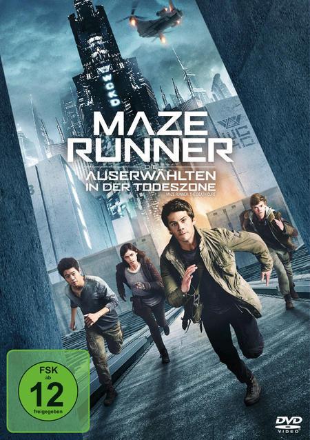 Maze Runner: Die Auserwählten in der Todeszone (DVD) für 12,99 Euro