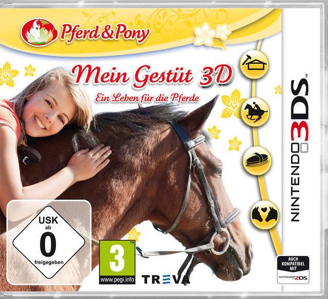 Mein Gestüt 3D: Ein Leben für die Pferde (Nintendo 3DS) für 20,00 Euro