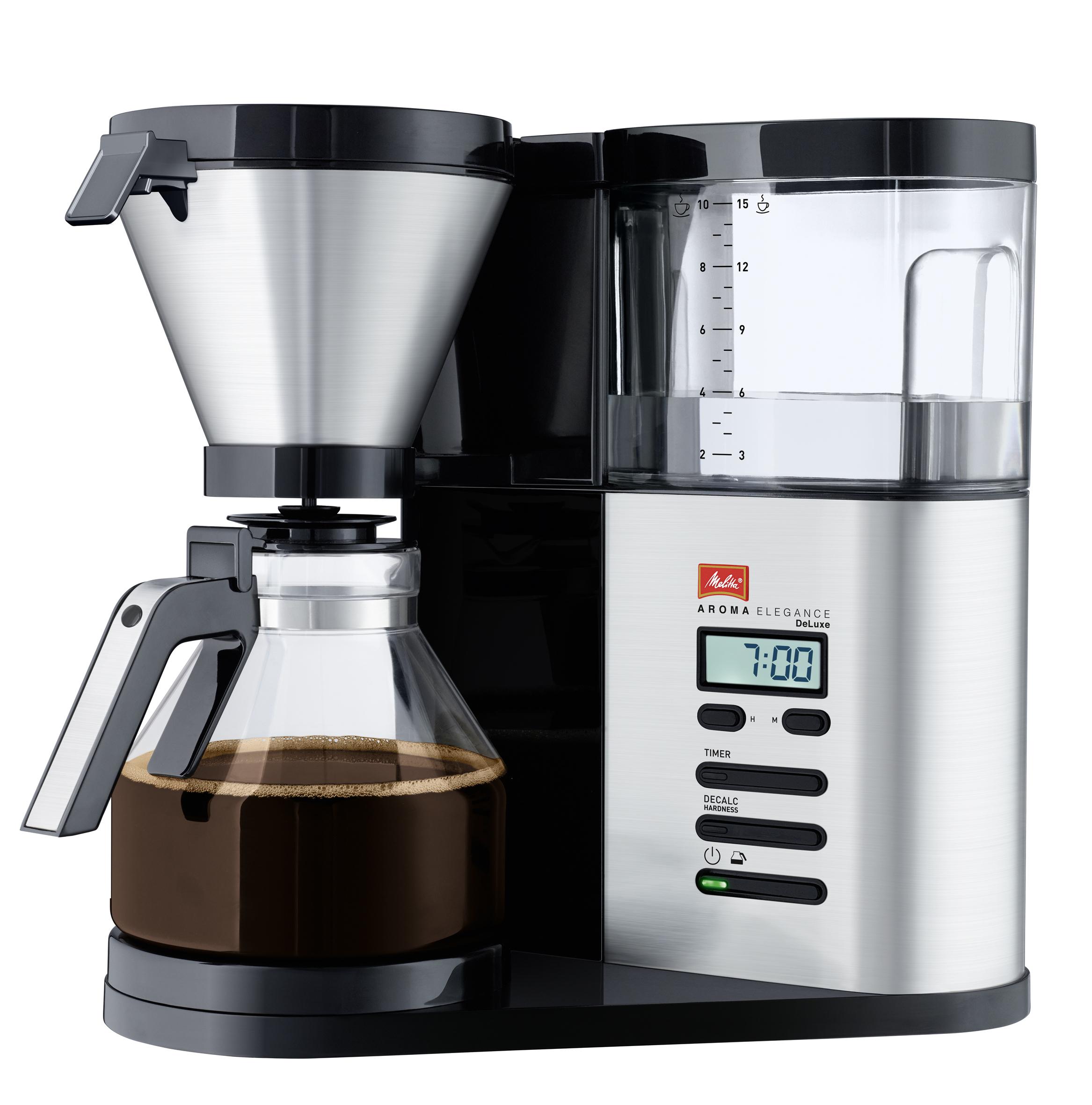 Melitta 1012-03 Aroma Elegance Deluxe Filterkaffeemaschine 10 Tassen für 134,99 Euro