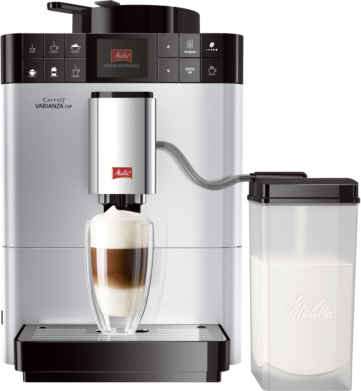Melitta Caffeo Varianza CSP F57/0-101 Kaffeevollautomat 1,2l Milchtank für 699,00 Euro