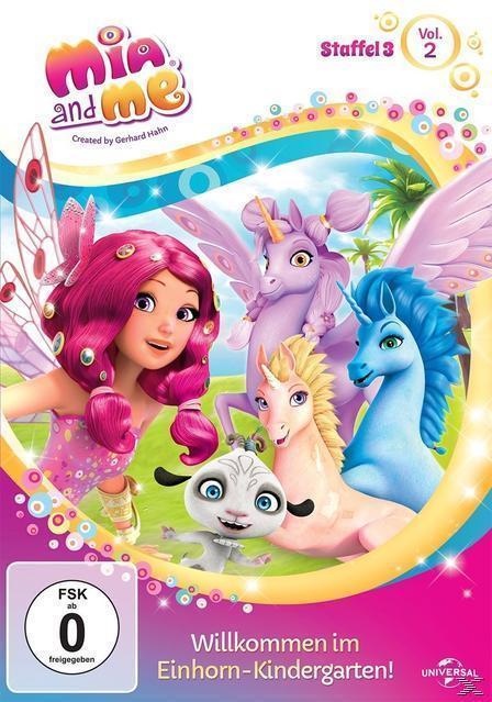 Mia and Me Staffel 3 - Vol. 2 - Willkommen im Einhorn-Kindergarten! (DVD) für 9,99 Euro