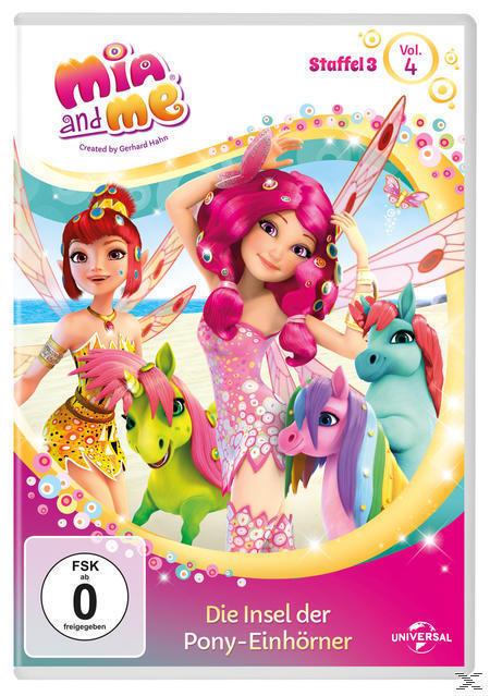 Mia and Me - Staffel 3 - Vol. 4 - Die Insel der Pony-Einhörner (DVD) für 9,99 Euro