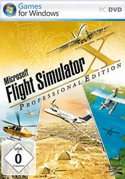 Microsoft Flight Simulator X Professional Edition (Software Pyramide) (PC) für 15,00 Euro