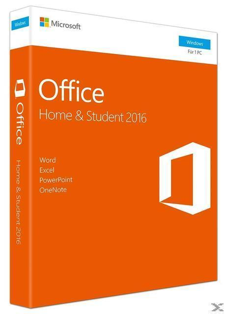 Microsoft Office Home and Student 2016 (Code in a Box) (PC) für 119,00 Euro