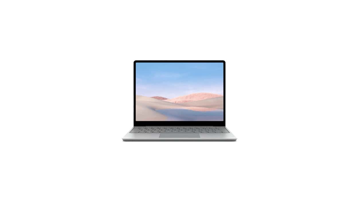 Microsoft Surface Laptop Go Notebook 31,6 cm (12.4 Zoll) 4 GB Ram eMMC Windows 10 Home S für 629,00 Euro