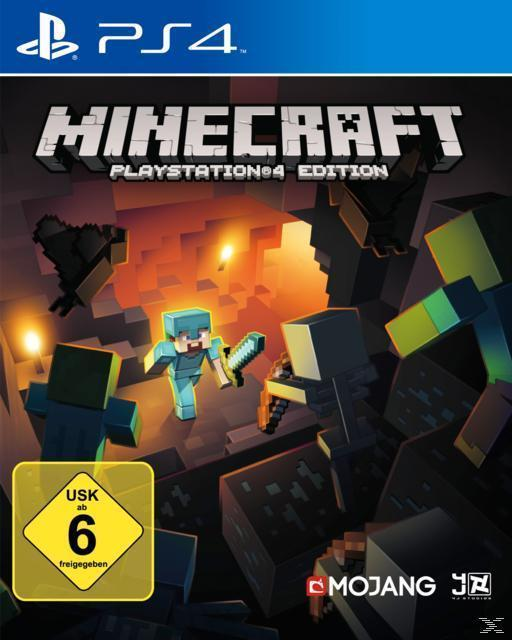 Minecraft (PlayStation 4) für 39,99 Euro