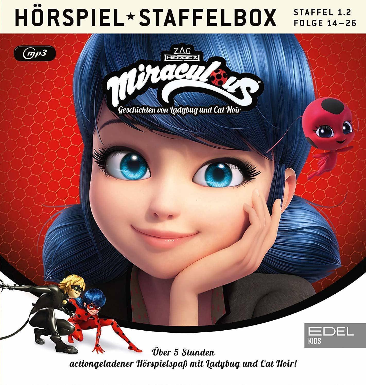 Miraculous - Staffelbox 1.2 (14-26) (MP3-CD(s)) für 14,99 Euro