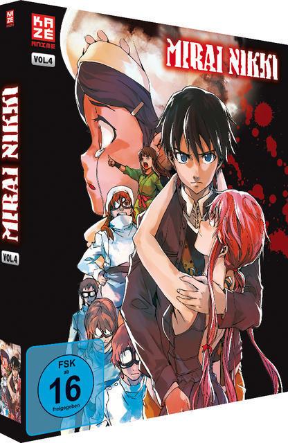 Mirai Nikki: Vol. 4 (BLU-RAY) für 39,95 Euro