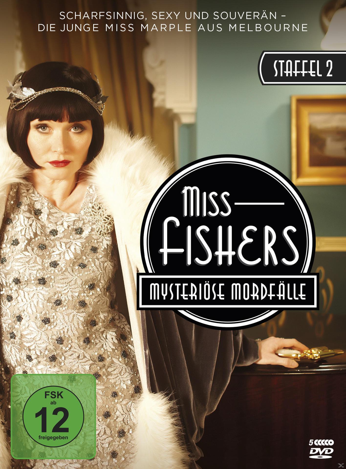 Miss Fishers mysteriöse Mordfälle - Staffel 2 DVD-Box (DVD) für 16,99 Euro