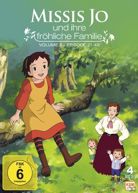 Missis Jo und ihre fröhliche Familie - Volume 2 DVD-Box (DVD) für 49,99 Euro