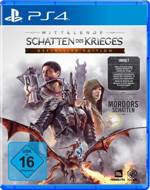 Mittelerde: Schatten des Krieges Definitive Edition (PlayStation 4) für 59,99 Euro