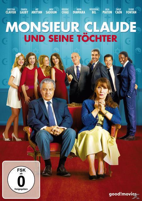 Monsieur Claude und seine Töchter (DVD) für 10,49 Euro