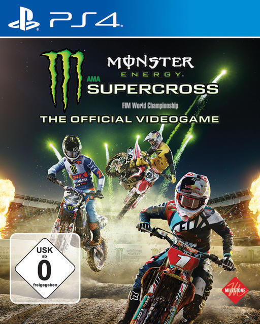 Monster Energy Supercross - The Official Videogame (PlayStation 4) für 44,99 Euro