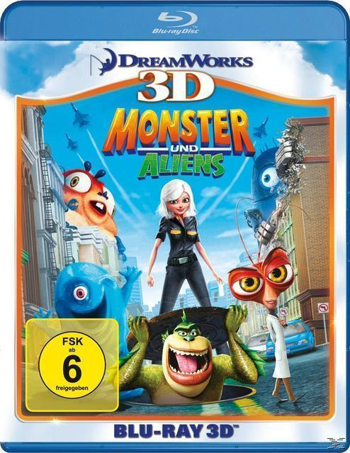 Monsters vs. Aliens (BLU-RAY 3D) für 19,99 Euro