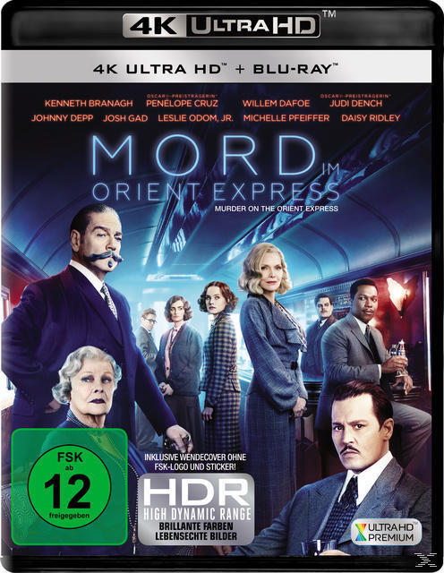 Mord im Orient Express (4K Ultra HD BLU-RAY + BLU-RAY) für 28,99 Euro