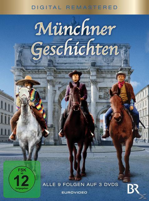 Münchner Geschichten Folgen 1-9 Digital Remastered (DVD) für 29,99 Euro