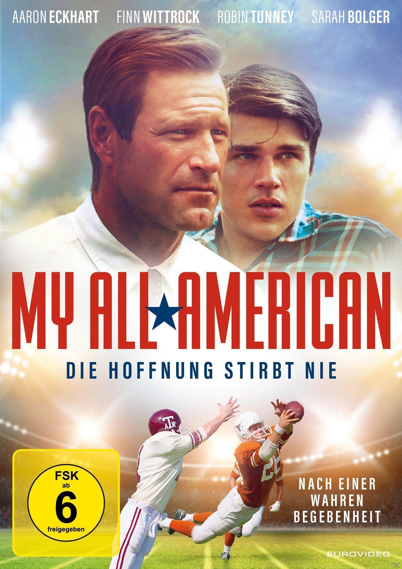 My All-American - Die Hoffnung stirbt nie (DVD) für 7,99 Euro