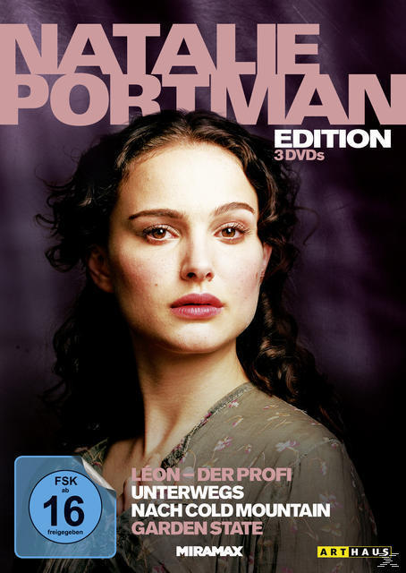 Natalie Portman Edition - Léon - Der Profi, Unterwegs nach Cold Mountain, Garden State DVD-Box (DVD) für 17,99 Euro