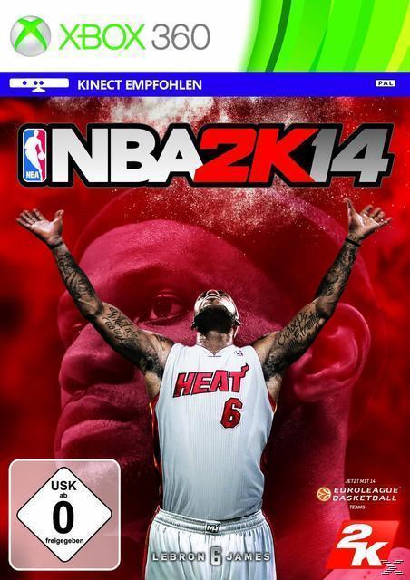NBA 2K14 (XBox 360) für 10,00 Euro