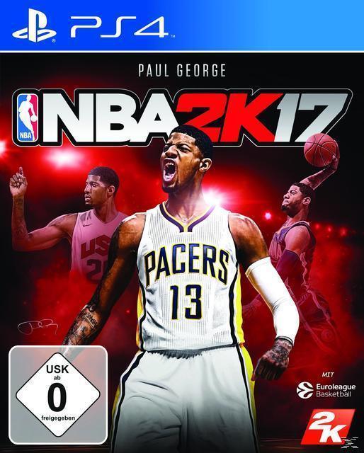 NBA 2K17 (PlayStation 4) für 52,00 Euro