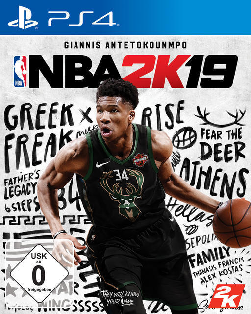NBA 2K19 Standard Edition (PlayStation 4) für 39,99 Euro