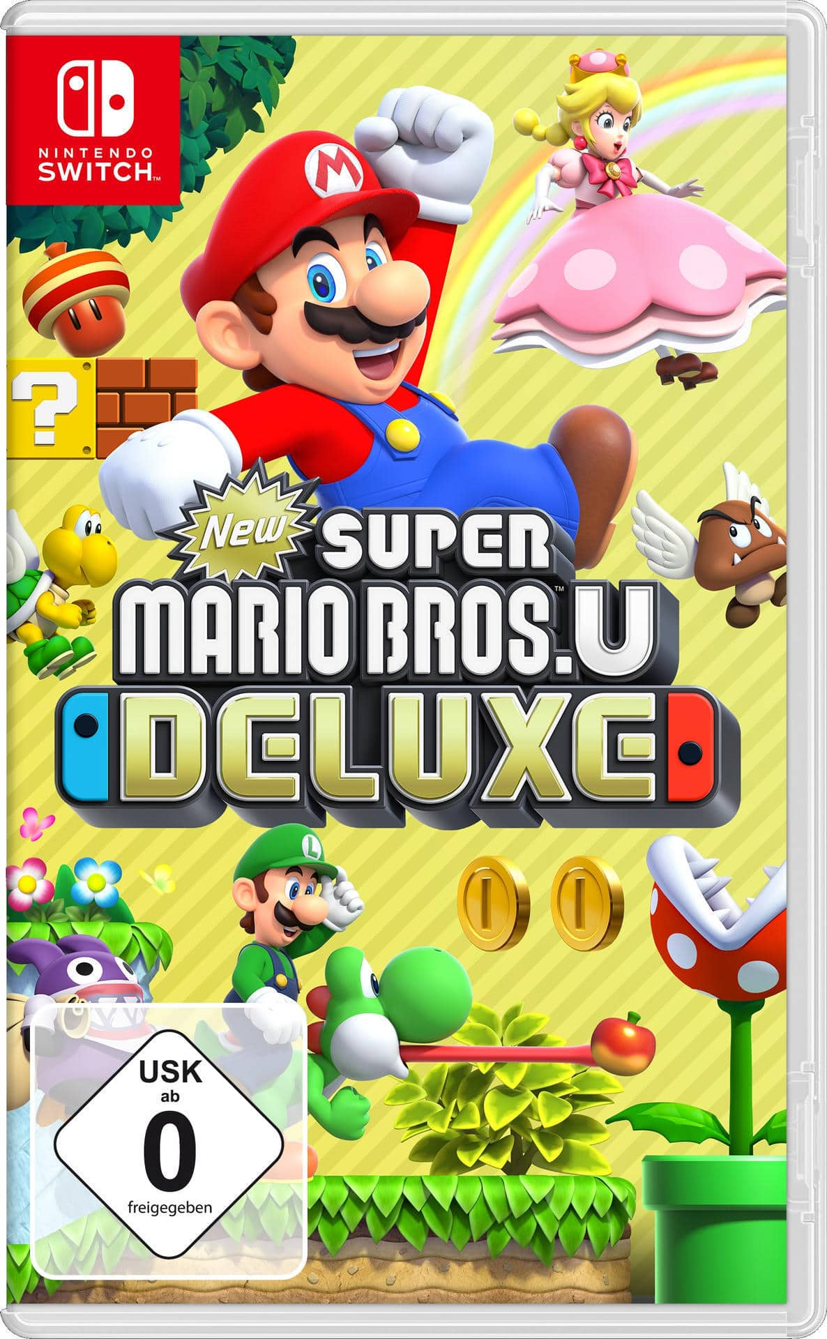 New Super Mario Bros. U Deluxe (Nintendo Switch) für 54,99 Euro