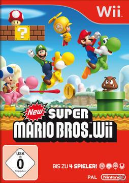 New Super Mario Bros. Wii (Nintendo WII) für 44,00 Euro