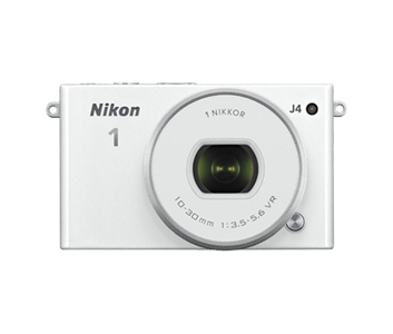 Nikon 1 J4 Kit Systemkamera 7,5cm/3'' 18,4MP WLAN Full-HD + 10-30mm für 279,00 Euro