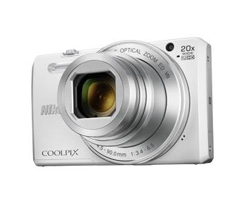 Nikon COOLPIX S7000 Digitalkamera 7,5cm/3'' 16MP 20fach WLAN für 169,00 Euro