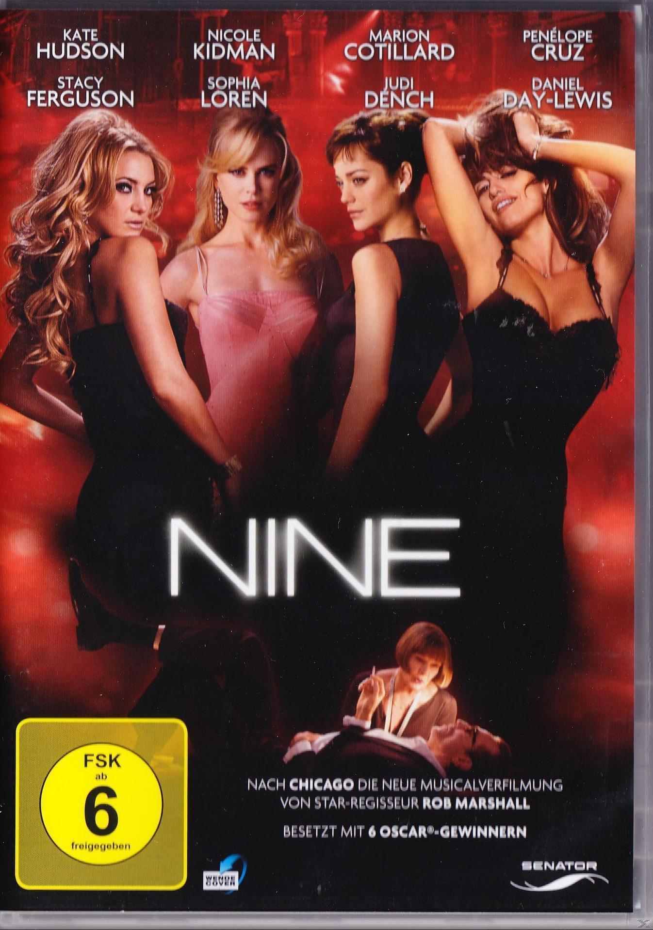 Nine (DVD) für 7,99 Euro