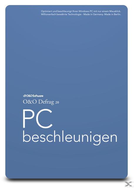 O&O Defrag 20 Professional (PC) für 29,15 Euro