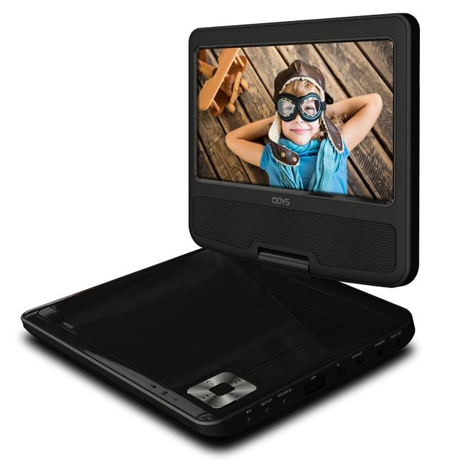 odys tara tragbarer dvd player 7 von expert technomarkt. Black Bedroom Furniture Sets. Home Design Ideas