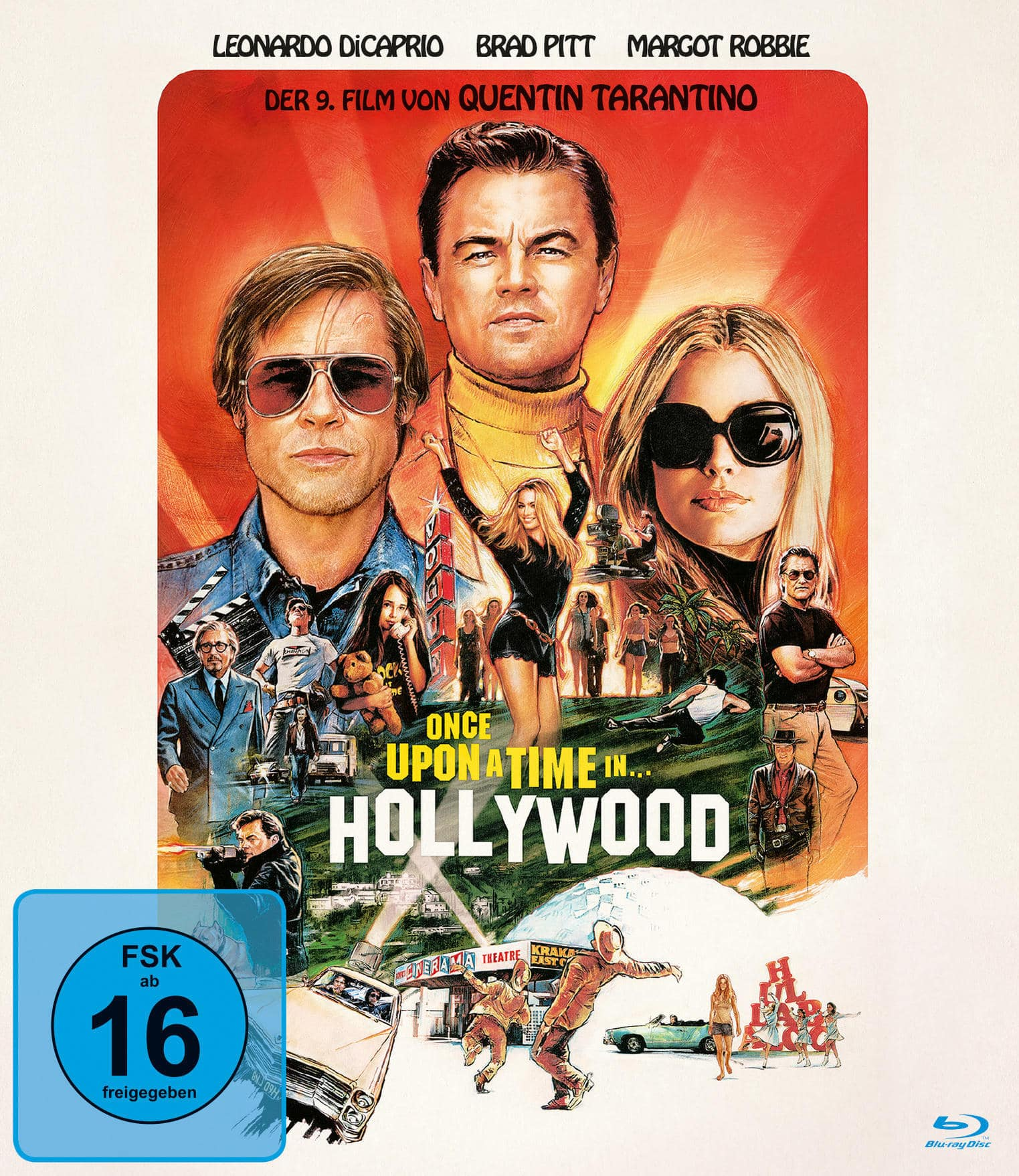 Once Upon a Time ... In Hollywood (BLU-RAY) für 13,99 Euro