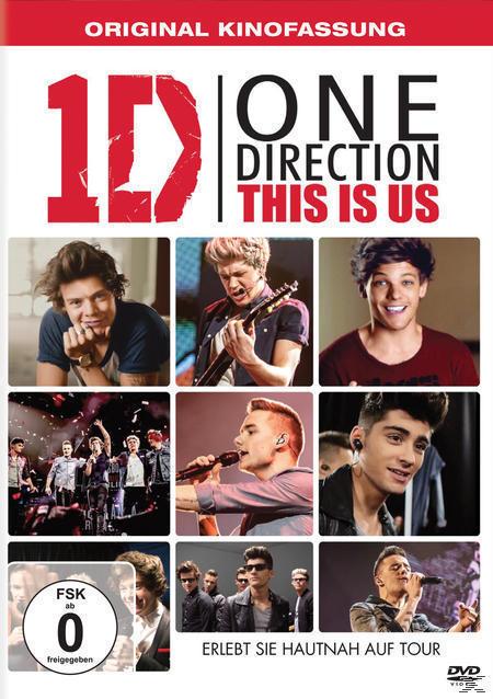 One Direction - This is us (DVD) für 9,99 Euro