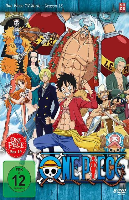 One Piece - TV-Serie Box Vol. 19 (Episoden 575-601) DVD-Box (DVD) für 49,99 Euro