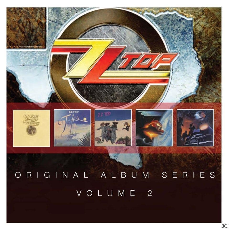 Original Album Series Vol.2 (ZZ Top) für 15,49 Euro