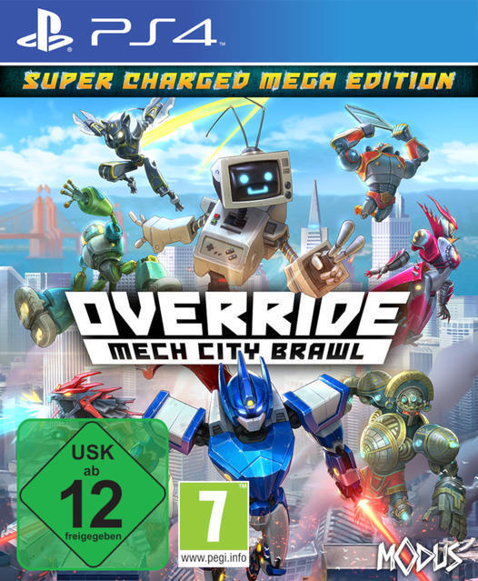 Override: Mech City Brawl - Super Charged Mega Edition (PlayStation 4) für 39,99 Euro