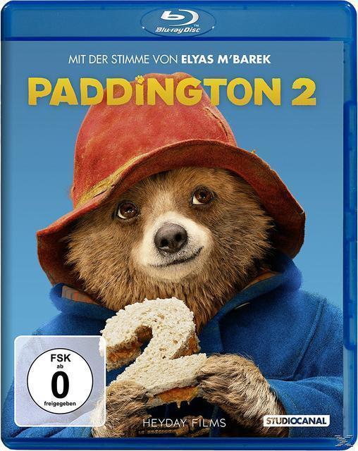 Paddington 2 (BLU-RAY) für 12,99 Euro