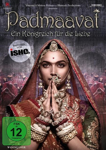 Padmaavat (DVD) für 12,99 Euro