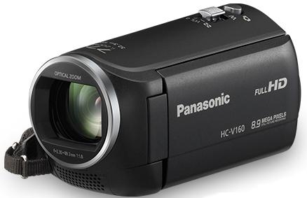 Panasonic HC-V160 Camcorder 6,86cm/2,7'' Full-HD für 169,00 Euro