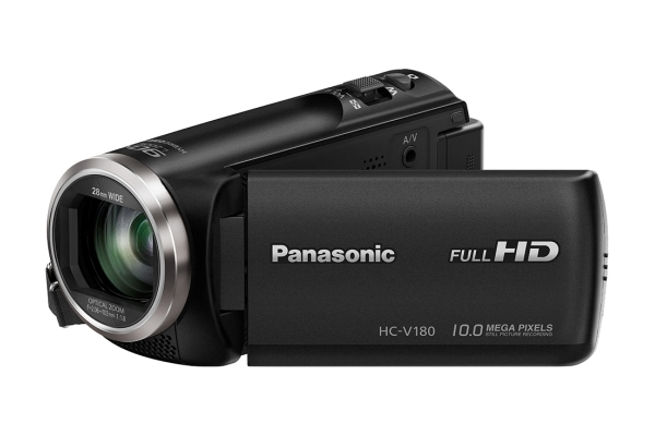 Panasonic HC-V180EG-K Camcorder 6,7cm Touch-Display schwenkbar Full-HD 10MP für 199,00 Euro
