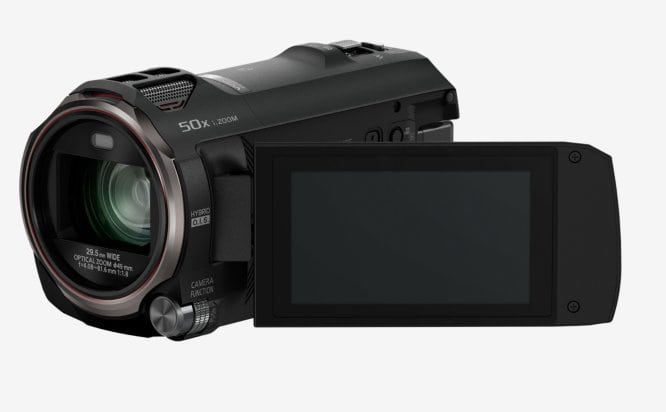 Panasonic HC-V777 Camcorder 3'' LCD-Display 20fach optischer Zoom 12,7MP für 374,90 Euro