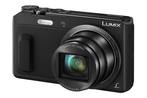 Panasonic Lumix DMC-TZ58 Kompaktkamera 7,7cm/3'' 16MP 20fach WLAN Full-HD für 185,00 Euro