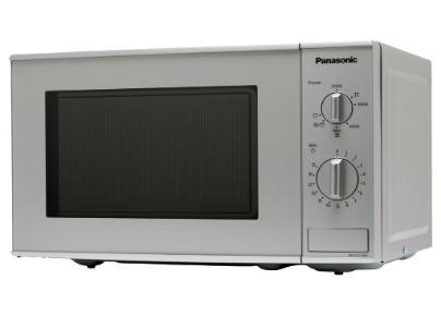 Panasonic NN-K121M Mikrowelle 800/1000W 5 Stufen 25,5 cm Quarzgrill für 124,99 Euro