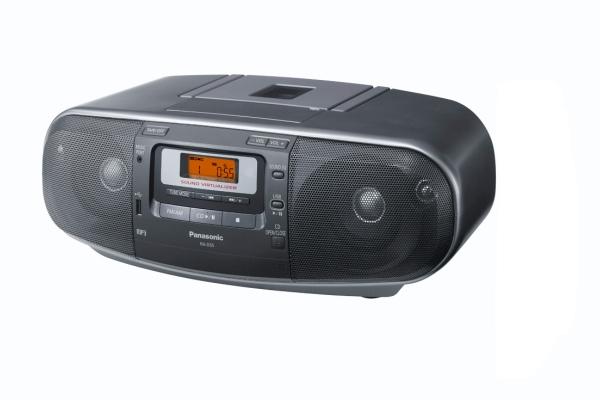 Panasonic RX-D55 EG-K CD-Stereo-Radiorecorder USB-Anschluss Timer für 159,99 Euro