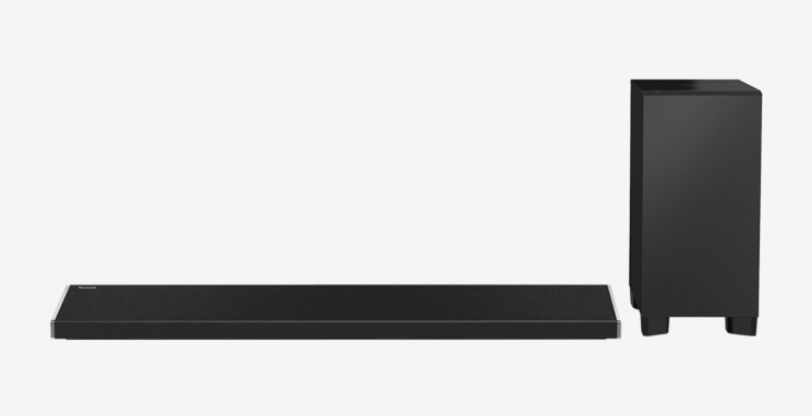 Panasonic SC-ALL70T Soundbar 350W WLAN Bluetooth NFC für 399,00 Euro