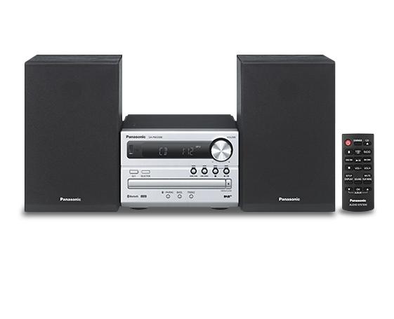 Panasonic SC-PM250BEG Kompaktanlage 20W FM RDS CD USB Bluetooth für 125,00 Euro