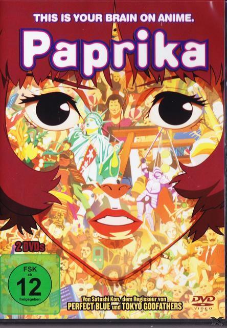 Paprika (DVD) für 5,84 Euro